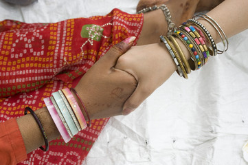 colorful bangles, women , travel , India