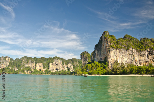 Railay beach in Krabi