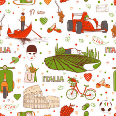 Italy pattern