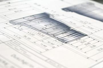Still: Technische Zeichnung / Bauplan