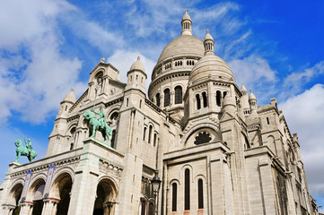 Sacre-Coeur Basilica in Paris, France
