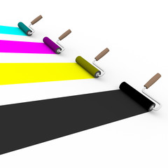 cmyk rollers