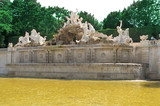 Neptun fountain Schonbrunn Palace