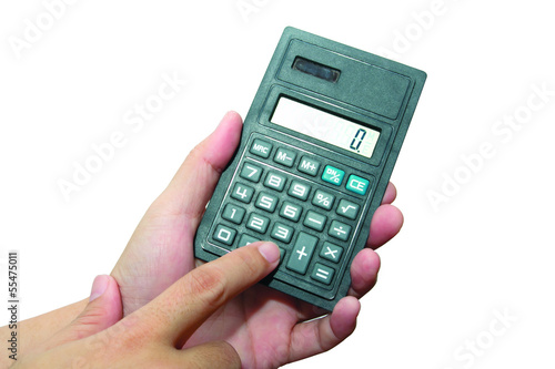 Calculator in Hand