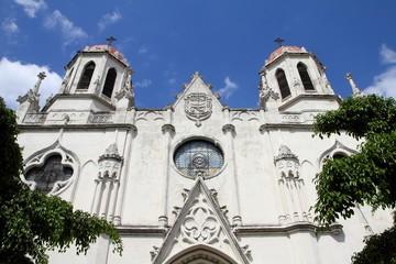 Havana landmark - neogothic church in Vedado