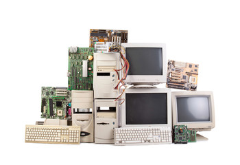 heap of old computers