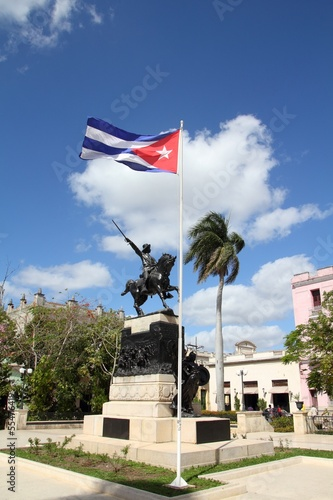 Cuba - main square in Camaguey