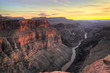 HDR, Toroweap Point Sunset, Grand Canyon National Park
