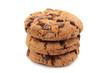 3 cookies isoliert