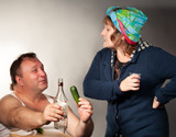 alcohol originated the quarrel between man and woman