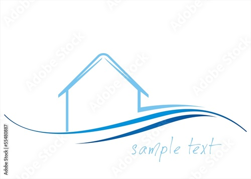 Home , architecture , icon, business logo design