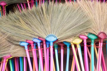 Broom make from Grass
