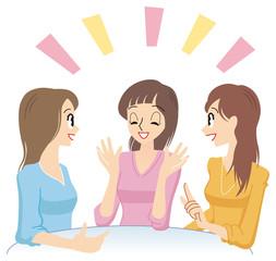三人の女性