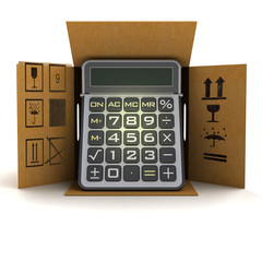 business calculator product delivery