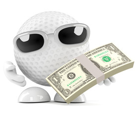 Golfball is paid in US dollars