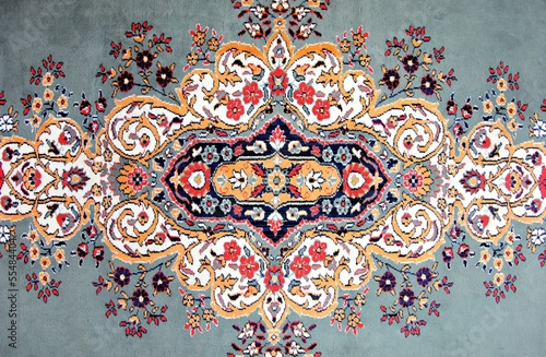 canvas print picture Texture of Turkish Carpet / Kilim