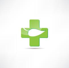 Eco medicine icon