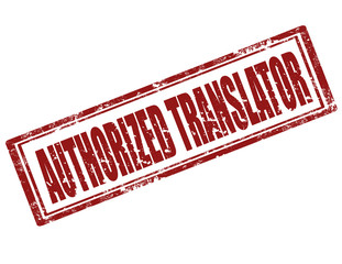 Authorized Translator-stamp