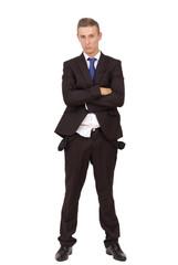 Bankrotter Geschäftsmann