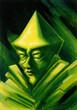 Постер, плакат: green gnome
