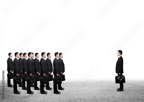 many businessmen