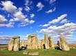 Stonehenge stone monument near Salisbury, Wiltshire