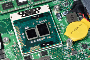 Electronic board of Notebook with various chipsets