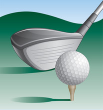 Golf club et balle