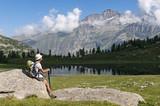 trekking sulle Alpi, Parco Nazionale Gran Paradiso, Italia