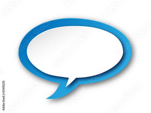 Speech Bubble Icon (buttons symbols tags blank template vector)