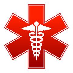 Medicine vector sign