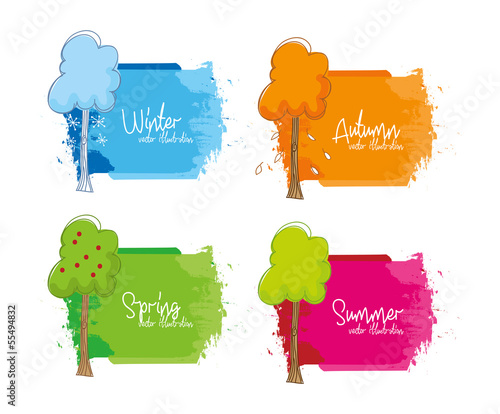 seasons trees