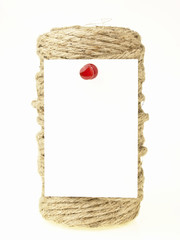 note on rope roll