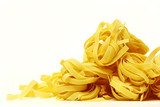 A lot of tagliatelle nest