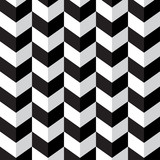 Abstract geometric background with monochrome stripes