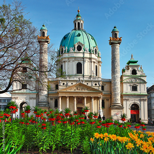 St. Charles's Church - Austria , Vienna