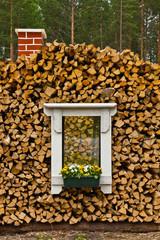 Das Fenster im Holz