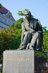 Bronze statue of Hviezdoslav Bratislava