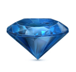 Sapphire blue icon