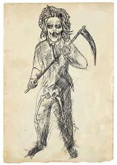 Scary monster. Reaper.