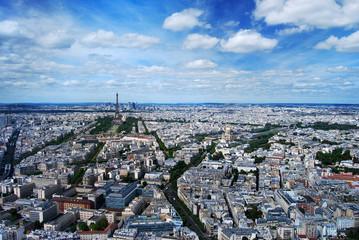 Paris Tour Eiffel et la Défense