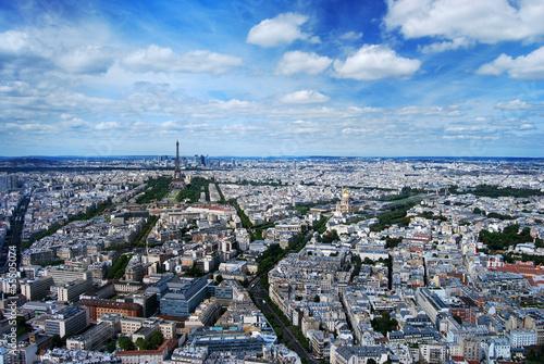 Paris Tour Eiffel et la Défense Poster