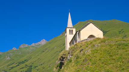 Alpine church, Riale - Formazza valley