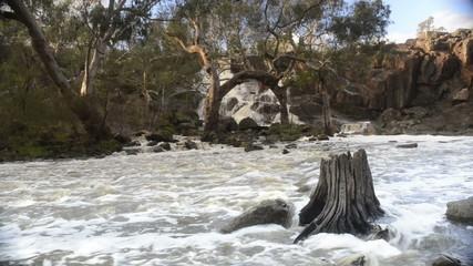 Beautiful Nigretta Falls waterfall in Western Victoria