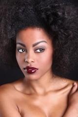 Beautiful African American Black Woman