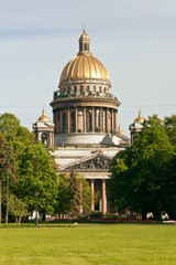 Saint Isaac Cathedral, St. Petersburg, Russia