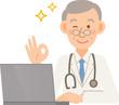 高齢 医者 PC