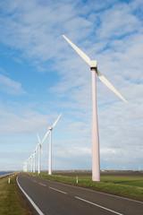 Wind turbines in Holland