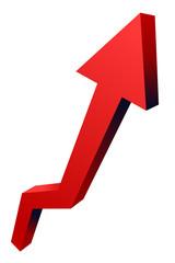 Red Top Arrow