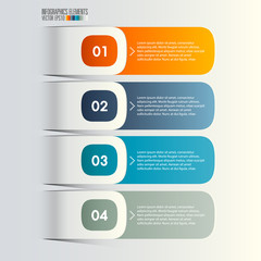 Modern Infographics template, vector illustration.